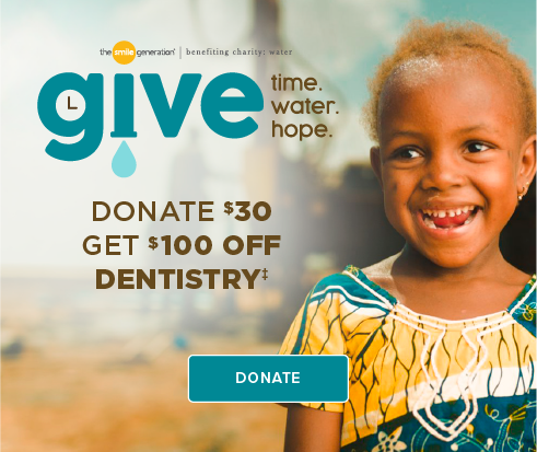 Donate $30, Get $100 Off Dentistry - La Jolla Village Smiles Dentistry and Implants